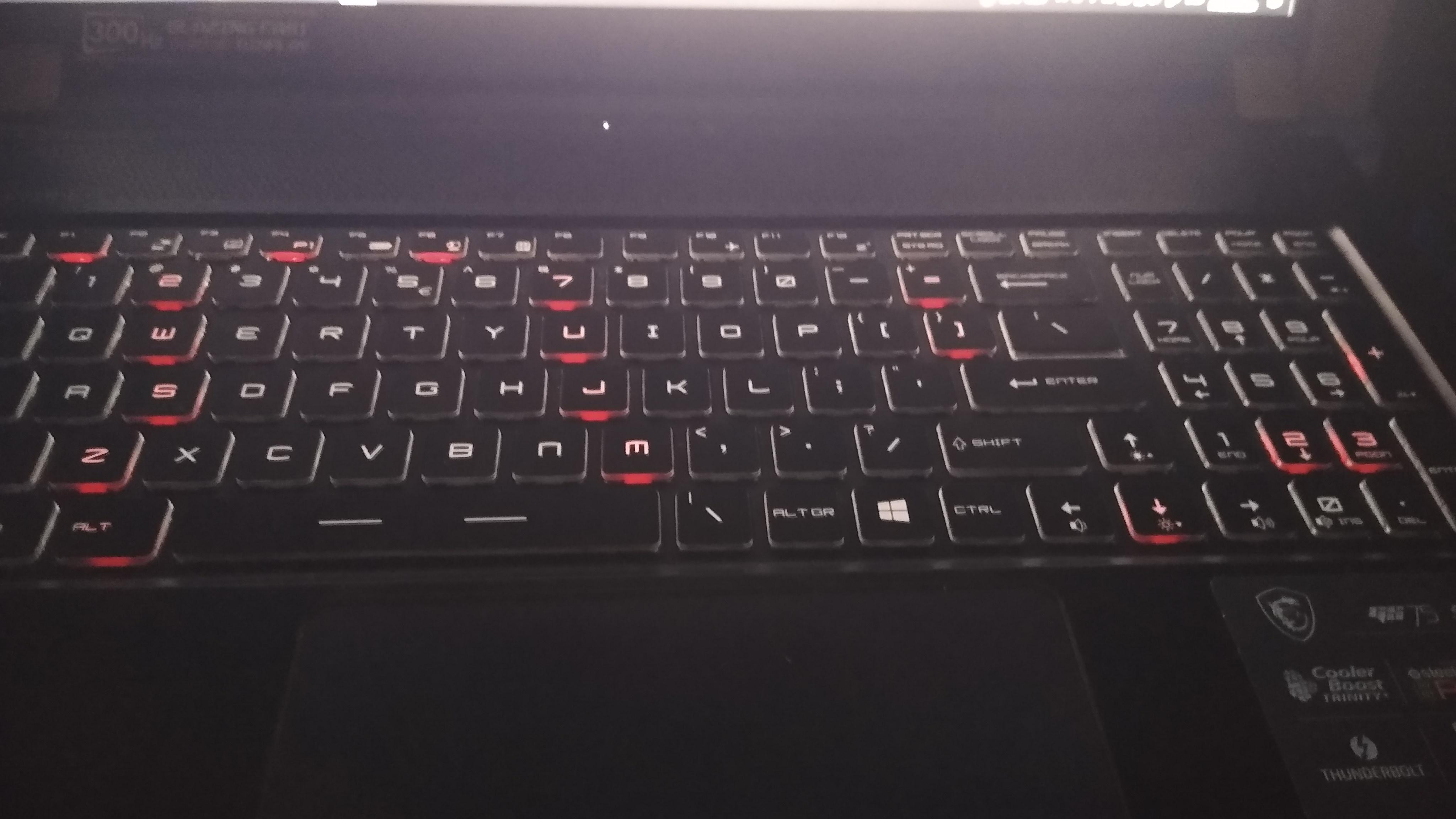 GS75 Stealth 10SGS - Keyboard RGB LED Problem.jpg